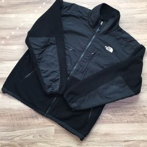The North Face Denali jacket, black, men's size L